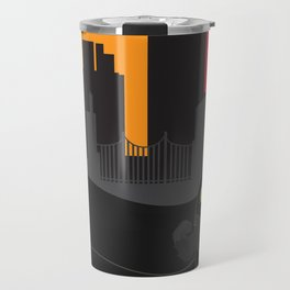Urban monster Bat_man Travel Mug