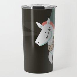 Tattooed horse Travel Mug