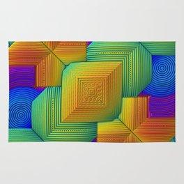 Color Patchwork Rug