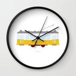 Lisbon Tram Wall Clock