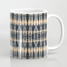 Deep Indigo Shibori Coffee Mug