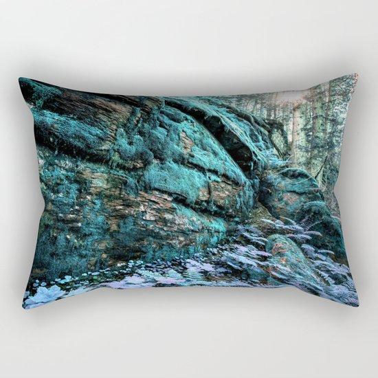 Enchanted Forest Wall Rectangular Pillow