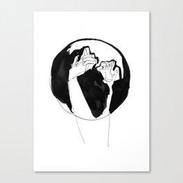 moonlight hands Canvas Print