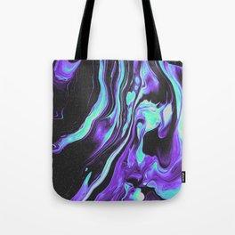 BLACK & BLUE DEVOTION Tote Bag