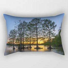 Sunset at Stumpy Lake Rectangular Pillow
