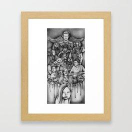 Metaphors - Youtubers Framed Art Print