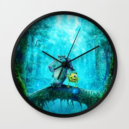 MONSTER INC Wall Clock