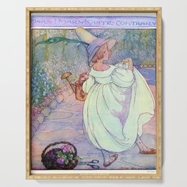 Mary, Mary quite contrary! Serving Tray