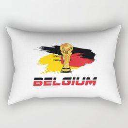 World cup Belgium Rectangular Pillow
