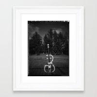 cello Framed Art Prints featuring Cello by Jean-François Dupuis