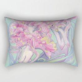 Flower Heads Rectangular Pillow
