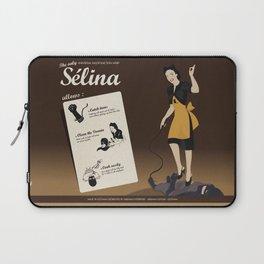 Sélina (english version) Laptop Sleeve
