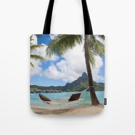 Bora Bora Photography - Tahiti - French Polynesia - Mt Otemanu - Beach - Overwater Bungalow - Fine A Tote Bag