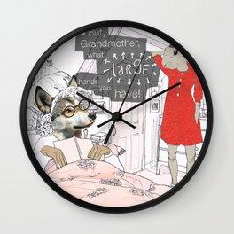 But Grandma! Wall Clock