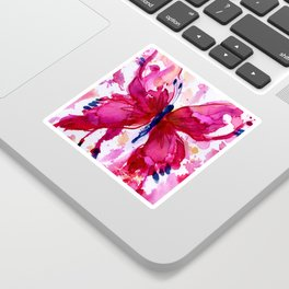 Butterfly Joy No. 7 Sticker