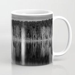 Idyllic summer landscape with crystal clear lake Coffee Mug