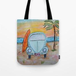Beach Luv Tote Bag