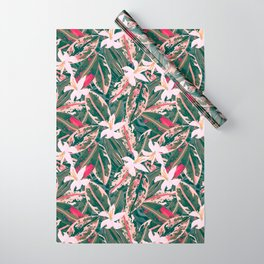 Crazy Tropical Plant Lady Wrapping Paper