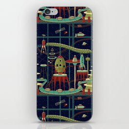 Fantastic Launch Station iPhone Skin