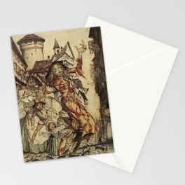 El flautista de HAMELIN Stationery Cards