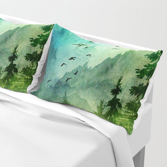 Mountain Morning Pillow Sham
