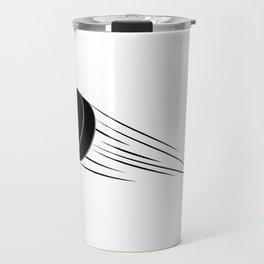 Ice Hockey Puck Travel Mug