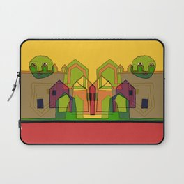 Two Suns Above the Village Laptop Sleeve