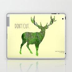 Save the animals - Deer Laptop & iPad Skin