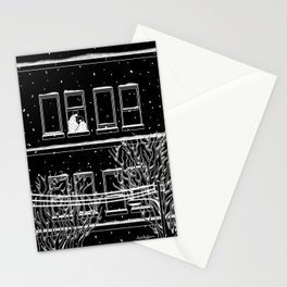 Winter with you Stationery Cards