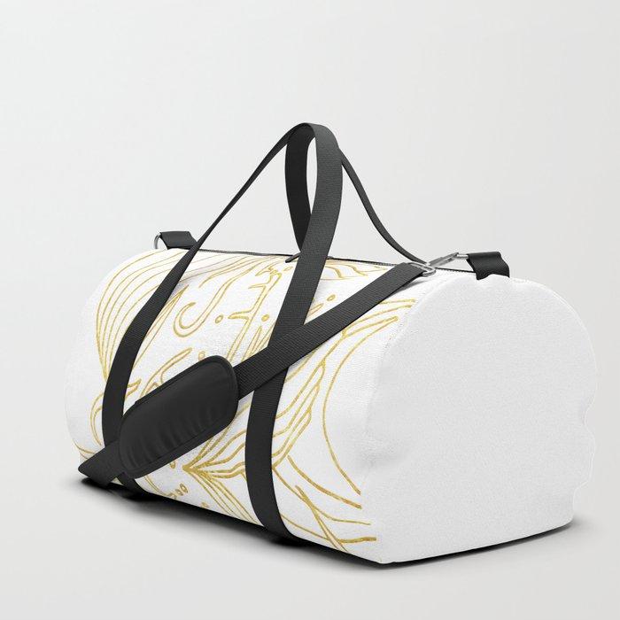 (SH)elixir blanc Duffle Bag