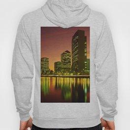 Lake Merritt and Downtown Oakland in Golden Sunset Hoody