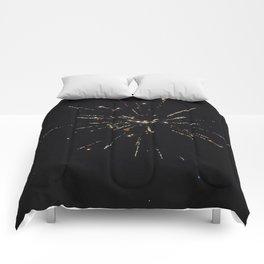Golden Fireworks 2018 Comforters