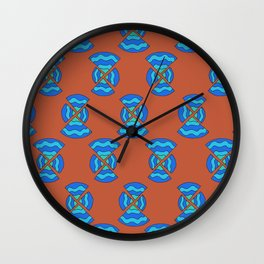 Inequal pizza time 2.0 Wall Clock