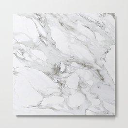 Carrera Marble Metal Print