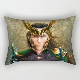 Loki- Golden Sunburst Rectangular Pillow