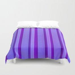 Stripes - Violet Duvet Cover