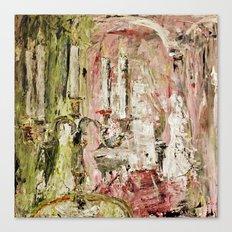 Le bougeoir (la touche feminine) Canvas Print