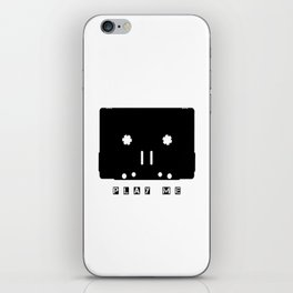 Cassette Tape Play Me iPhone Skin