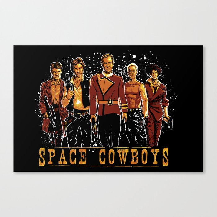 Space Cowboys Canvas Print