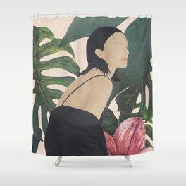 My Tropical Garden Shower Curtain