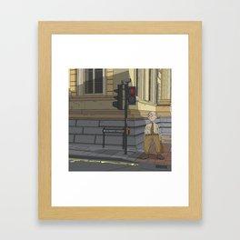 Oxford - Beaumont Street Framed Art Print