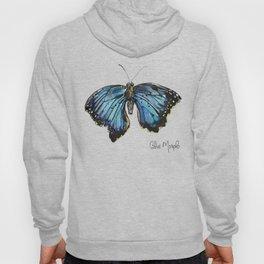 Blue Morph Butterfly Hoody