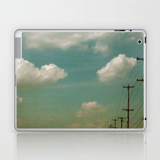 Electric Blue Laptop & iPad Skin