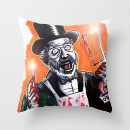 Dr. Demento: Not a real Doctor Throw Pillow