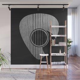 Strum... (White on Black) Wall Mural