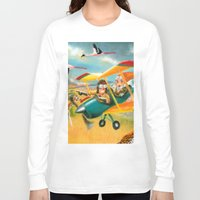 africa Long Sleeve T-shirts featuring Africa by colortown