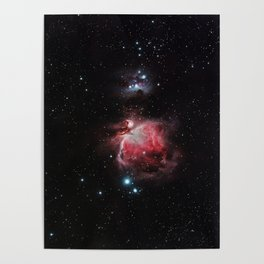 The Great Nebula in Orion Poster