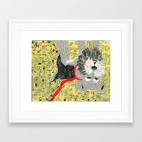 sassy Framed Art Prints featuring Sassy by Becky Shelton