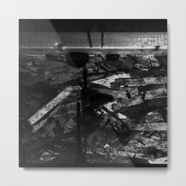 Frank Wood Metal Print