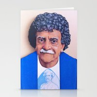 vonnegut Stationery Cards featuring Kurt Vonnegut by Tim Frame